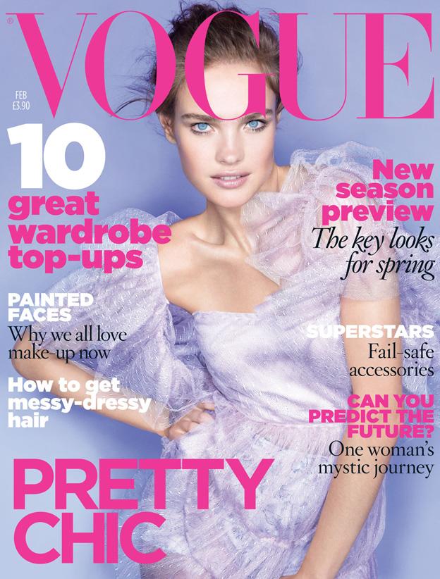 Vogue Februar 2010 Natalya Vodianova Naslovnice britanskog Vogue a u 2010.