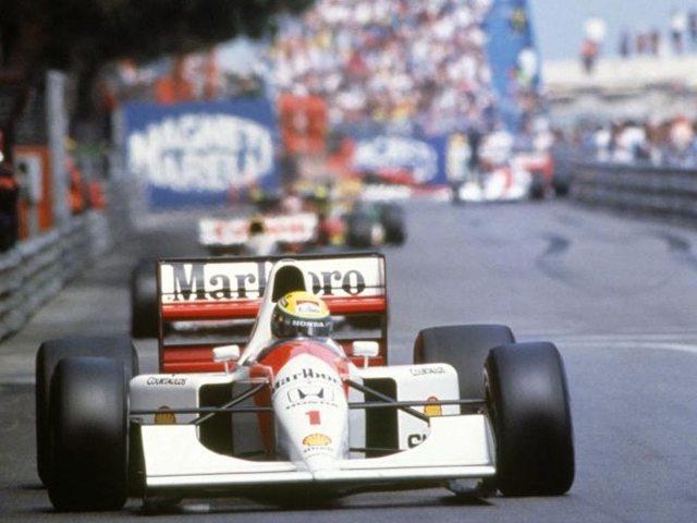 ayrtonsenna mclarenhonda montecarlo 1992 Kako je Senna postao legenda