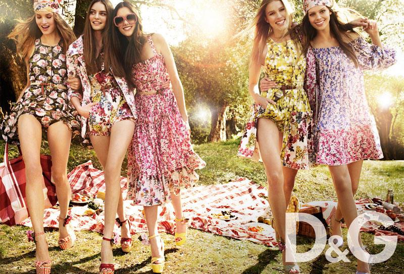 dgcampaign1 Trend za proleće: cvetni print