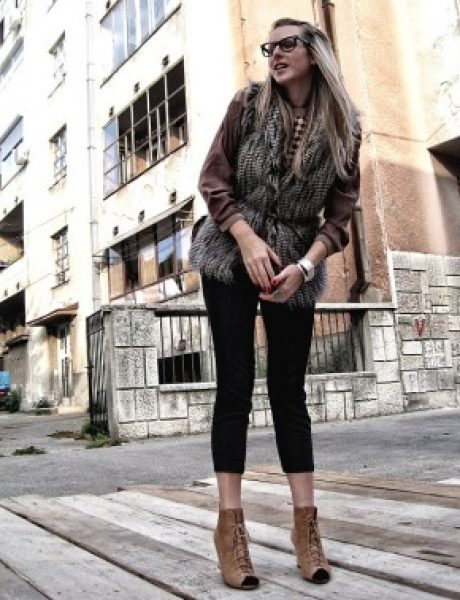 Modna blogerka Marina Arnaut