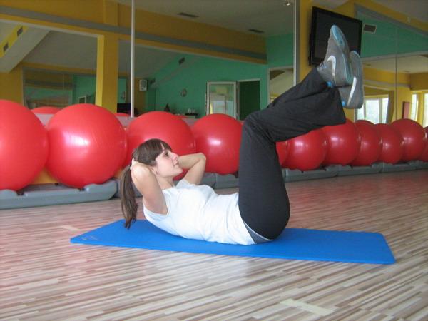slika 2 Health & fitness coaching: vežbe za trbušne mišiće