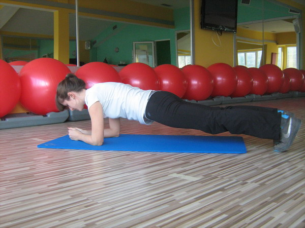 slika 5 Health & fitness coaching: vežbe za trbušne mišiće