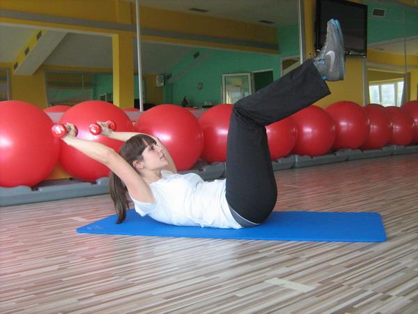 slika 8 Health & fitness coaching: vežbe za trbušne mišiće
