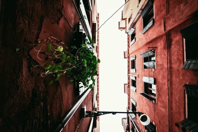 venecija italija Bolonja, grad terakote