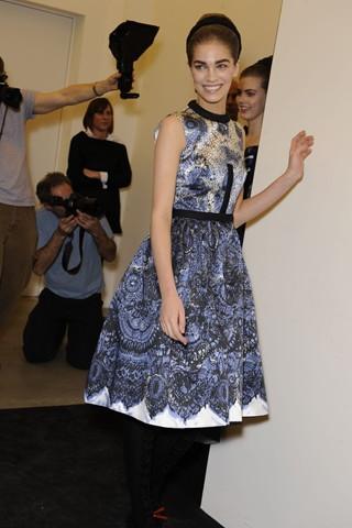 zenstvene haljine Trendovi za sezonu jesen/zima 2010/11.