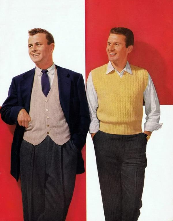 1950s mens 123113340 large Ilustracije muške mode