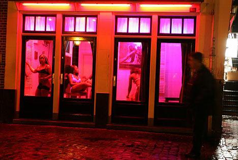 Amsterdam red light district I AMsterdam