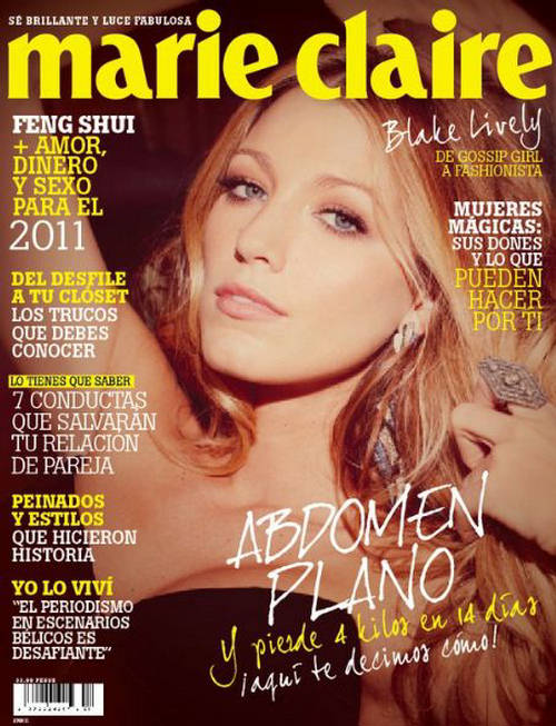 Blake Lively Marie Claire Marie Claire