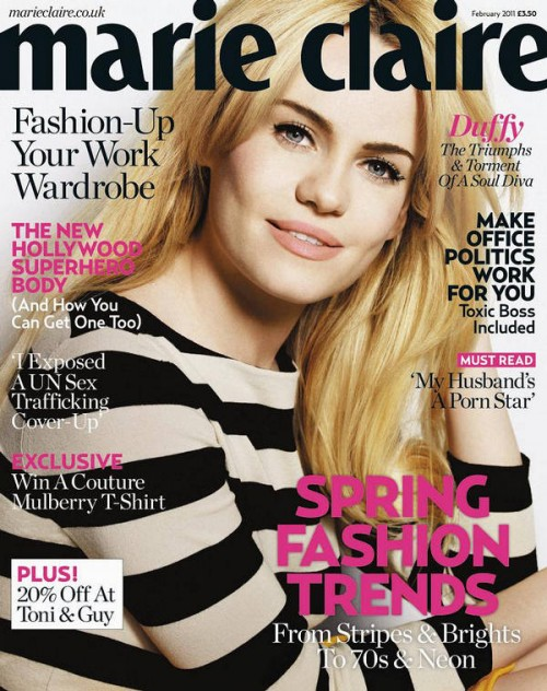 Duffy Marie Claire 1 500x632 Marie Claire