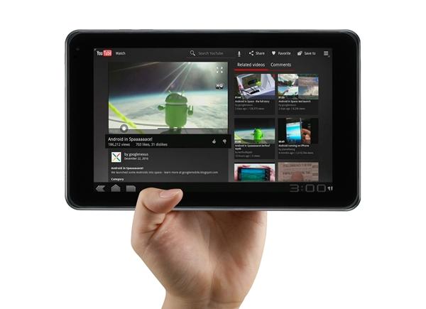 LG Optimus Pad YouTube LG Optimus Pad Tablet
