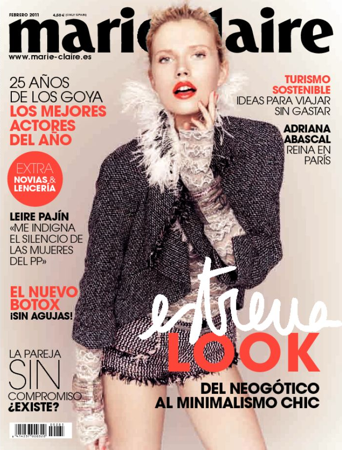 Marie Claire Spain February 2011 Marie Claire
