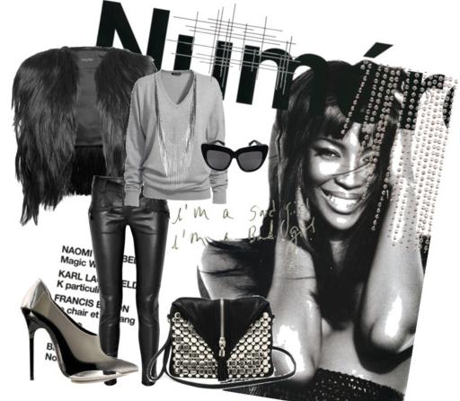 Naomi Get the look: Naomi Campbell