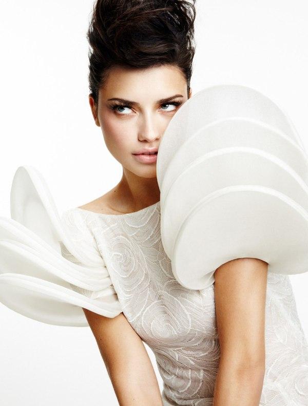 adriana lima Adriana Lima & Vogue Brasil