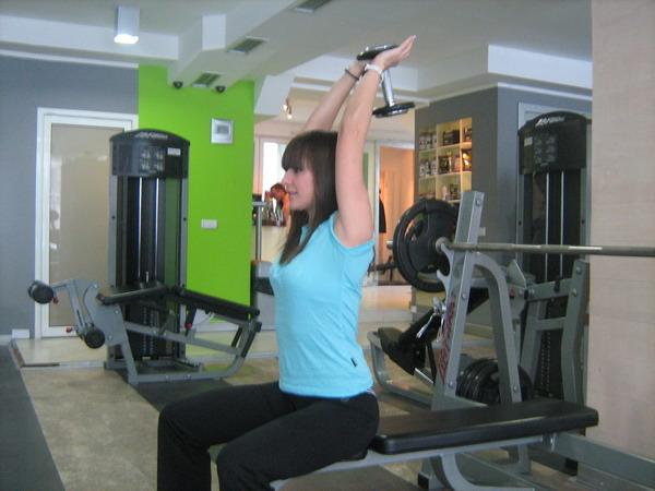 aktivacija sve tri glave tricepsa Dobar trening: Definicija mišića ruku