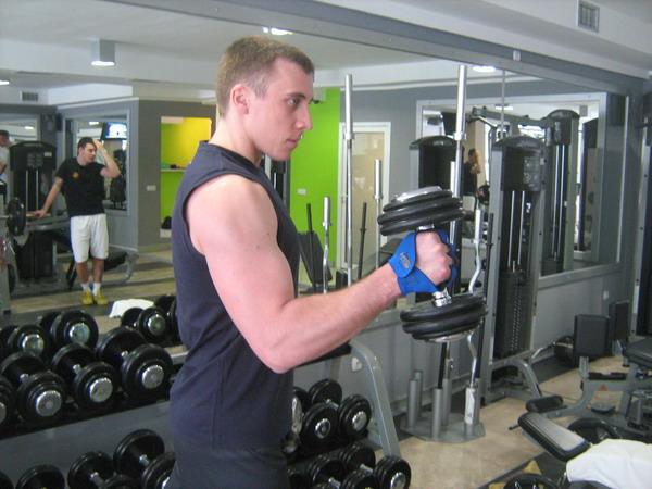 cekic pregibbiceps+coracobrachialis Dobar trening: Definicija mišića ruku