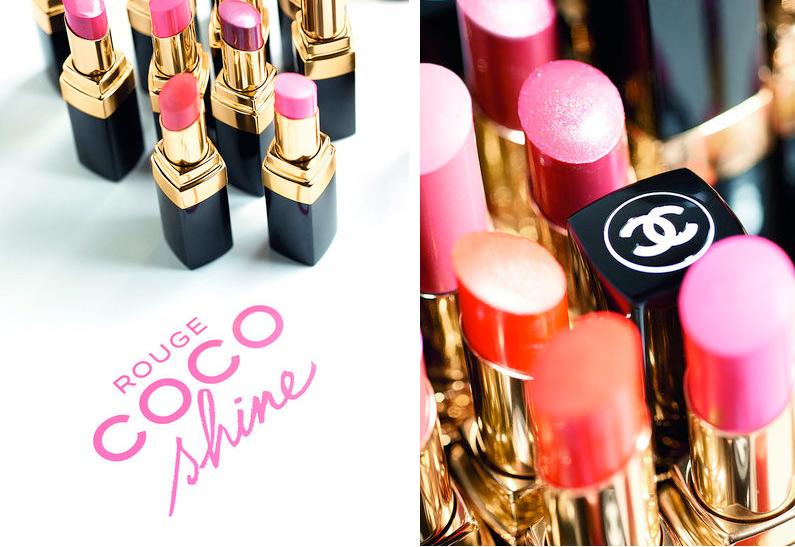 chanel rouge coco shines Chanel Rouge Coco Shine