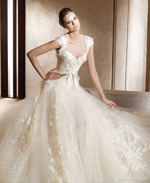 elie saab wedding gown 2011 aglaya Elie by Elie Saab 2011