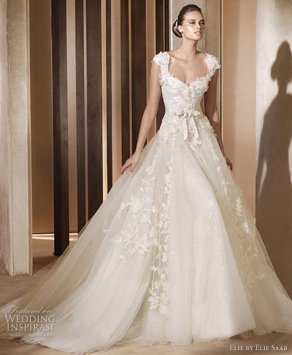 elie saab wedding gown 2011 Elie by Elie Saab 2011
