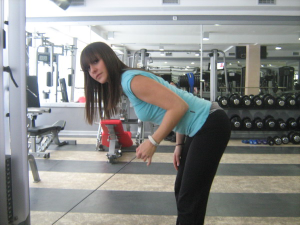 kick back izolacija tricepsa Dobar trening: Definicija mišića ruku