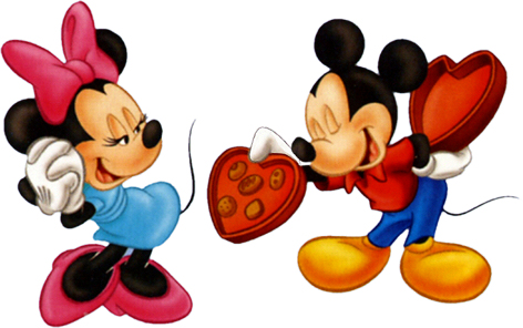 mickey minnie mouse valentines candy Dan ljubavi nekad i sad