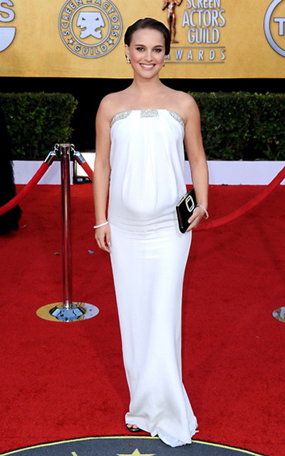 natalie replace a p SAG Awards 2011