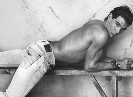 rafael nadal armani jeans 2011 ad campaign Megan Fox i Rafael Nadal za Armani