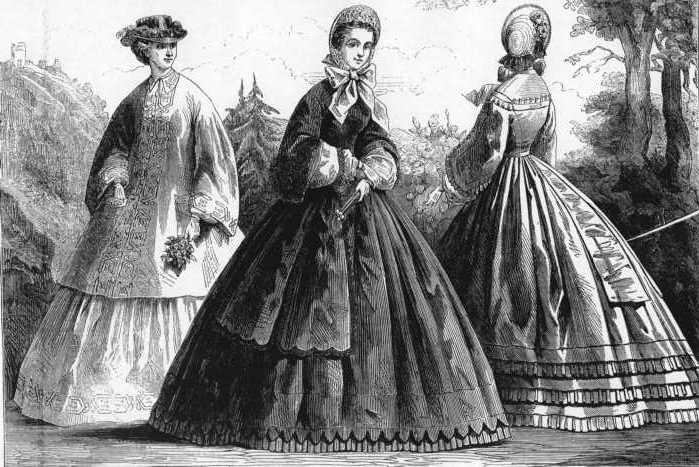 1862ilnb Ideal jedne epohe: krinolina