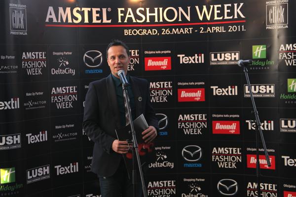 232 Amstel Belgrade Fashion Week: press koktel