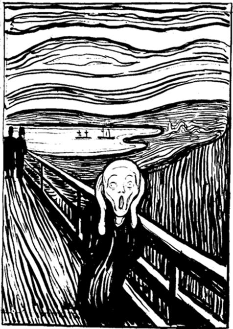 425px Munch The Scream lithography Munch Museum Edvard Munk: Krik