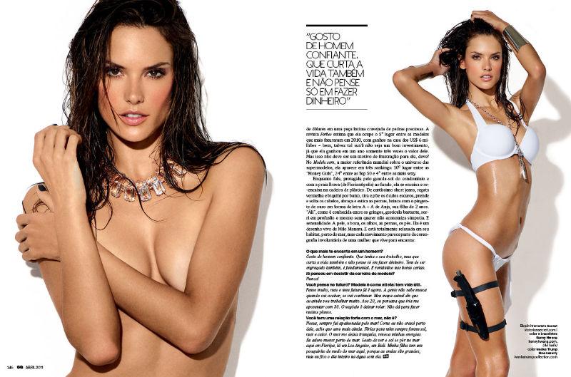 Alessandra Ambrosio GQ Brazil 1 Alessandra Ambrosio za GQ Brazil