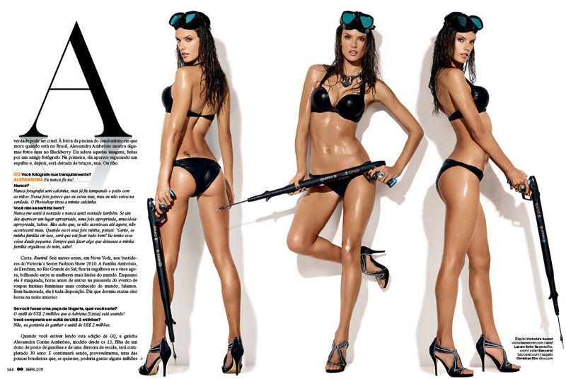 Alessandra Ambrosio GQ Brazil 2 Alessandra Ambrosio za GQ Brazil