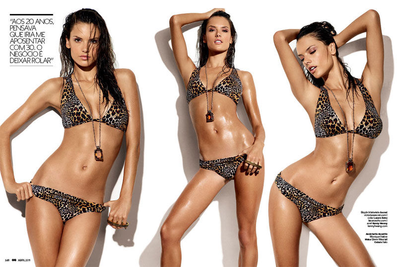 Alessandra Ambrosio GQ Brazil Alessandra Ambrosio za GQ Brazil
