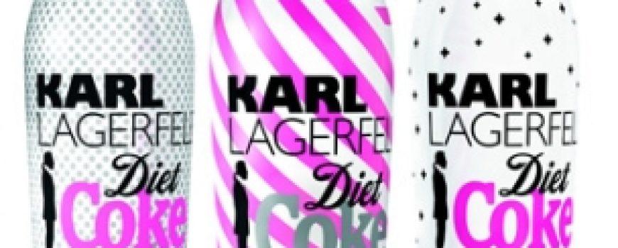 Karl Lagerfeld kreira flašicu Diet Coke