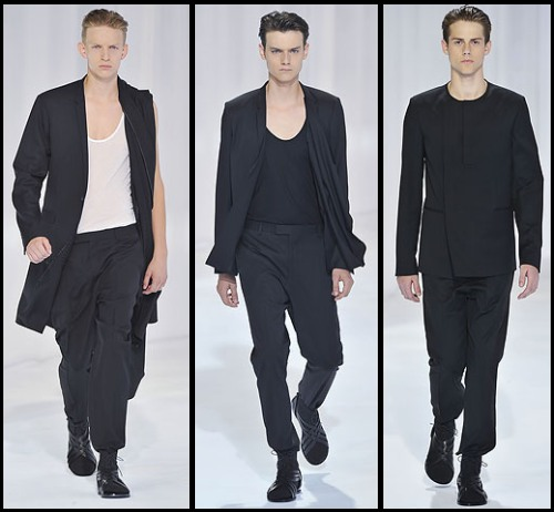 Dior Homme SS11 5 Dior Homme kolekcija za proleće/leto 2011.