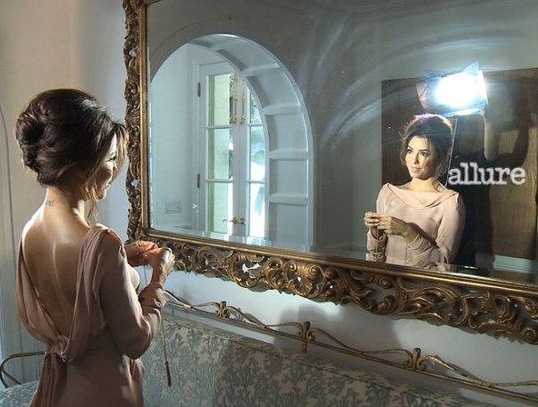 Eva Longoria Allure April 04 Eva Longoria u aprilskom izdanju magazina Allure