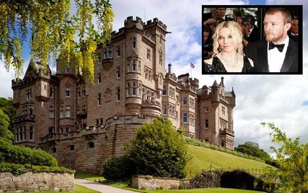 Madonna Guy Skibo Castle 20 najskupljih venčanja   prvi deo