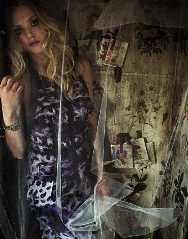 amanda seyfried Amanda Seyfried za britanski Marie Claire