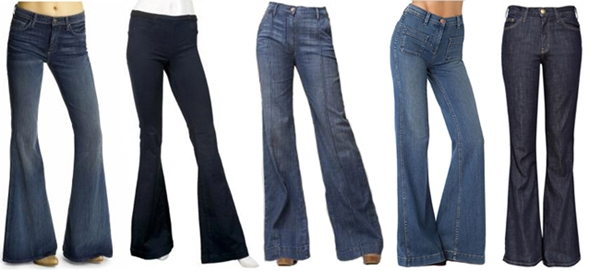 bell bottom jeans1 Modni trend za proleće 2011: zvoncare