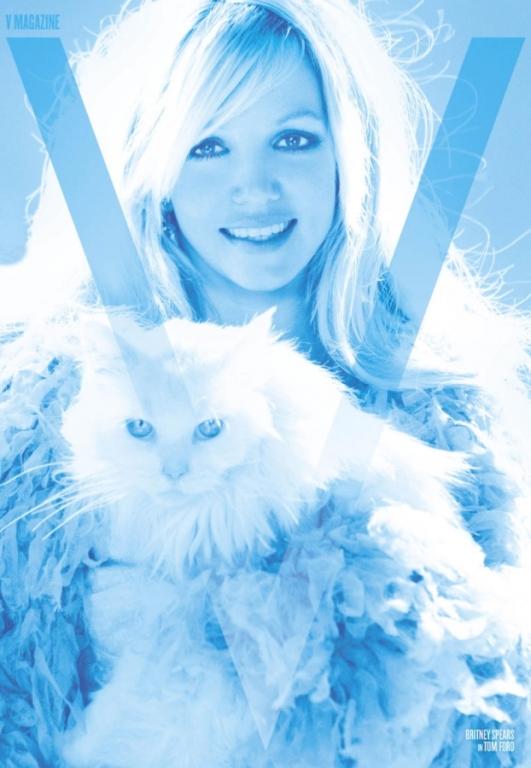 britney spears4 Britney Spears za V magazine