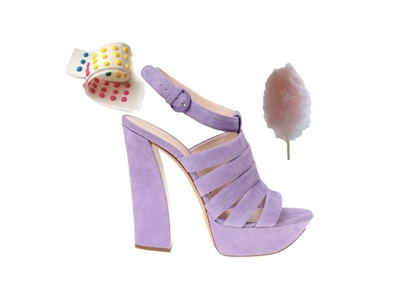 casadei shoes set 1 Casadei Candy Shoes kolekcija za proleće/leto 2011.