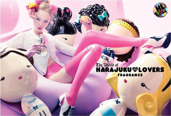coty harajuku lovers ad Gwen Stefani kao dizajnerka: Harajuku Lovers vs L.A.M.B.