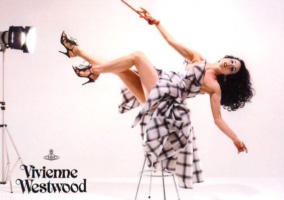 dita for vivienne spring 05 Vivienne Westwood