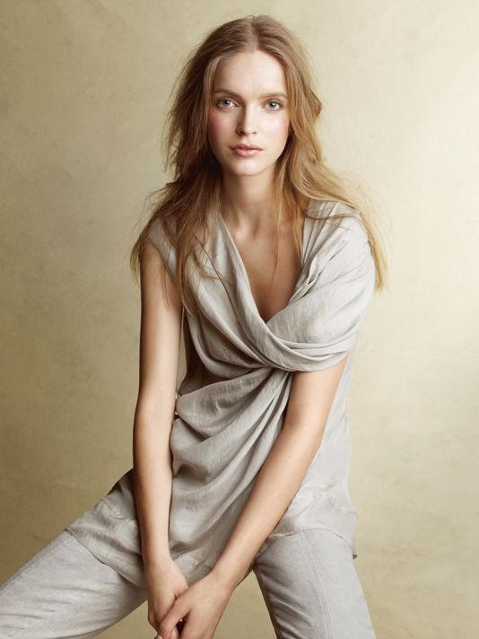 donnakaran1 Donna Karan Casual Luxe lookbook za proleće 2011.