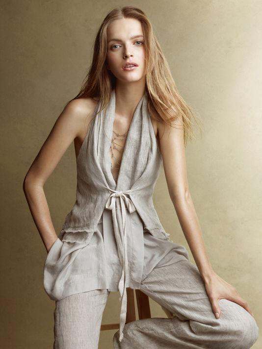 donnakaran10 Donna Karan Casual Luxe lookbook za proleće 2011.