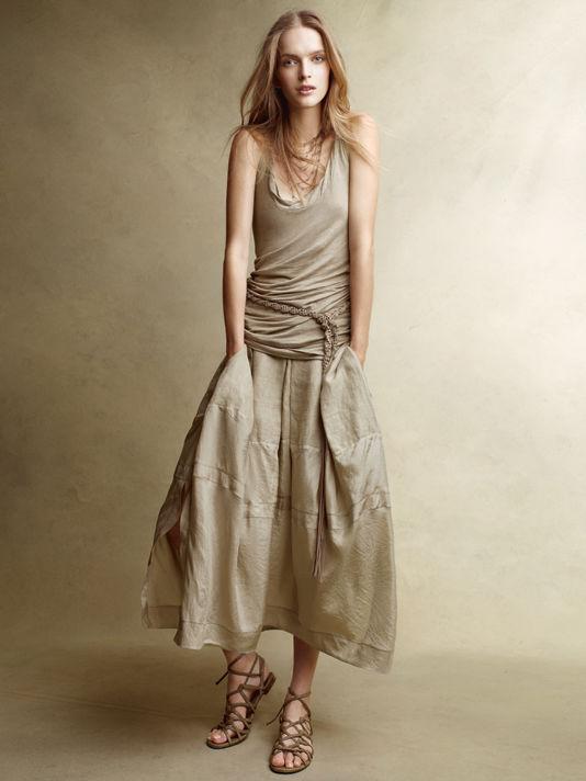 donnakaran7 Donna Karan Casual Luxe lookbook za proleće 2011.