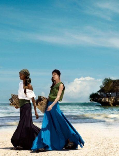 """Jourdan Dunn i Karmen Pedaru za britanski """"Vogue"""""""