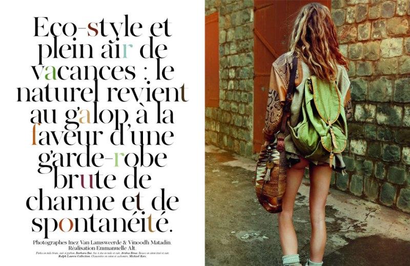 gisele bundchen1 Gisele Bündchen za aprilski Vogue Paris