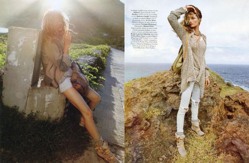 gisele bundchen3 Gisele Bündchen za aprilski Vogue Paris