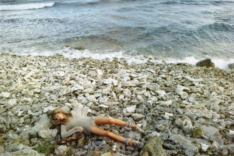 gisele bundchen4 Gisele Bündchen za aprilski Vogue Paris
