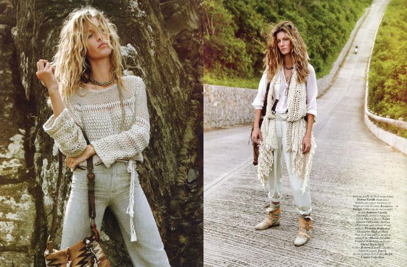 gisele bundchen5 Gisele Bündchen za aprilski Vogue Paris